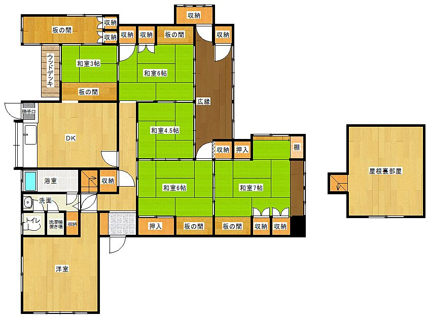 北九州市門司区中二十町にあるBuddyHouse中二十町(貸家)です。
