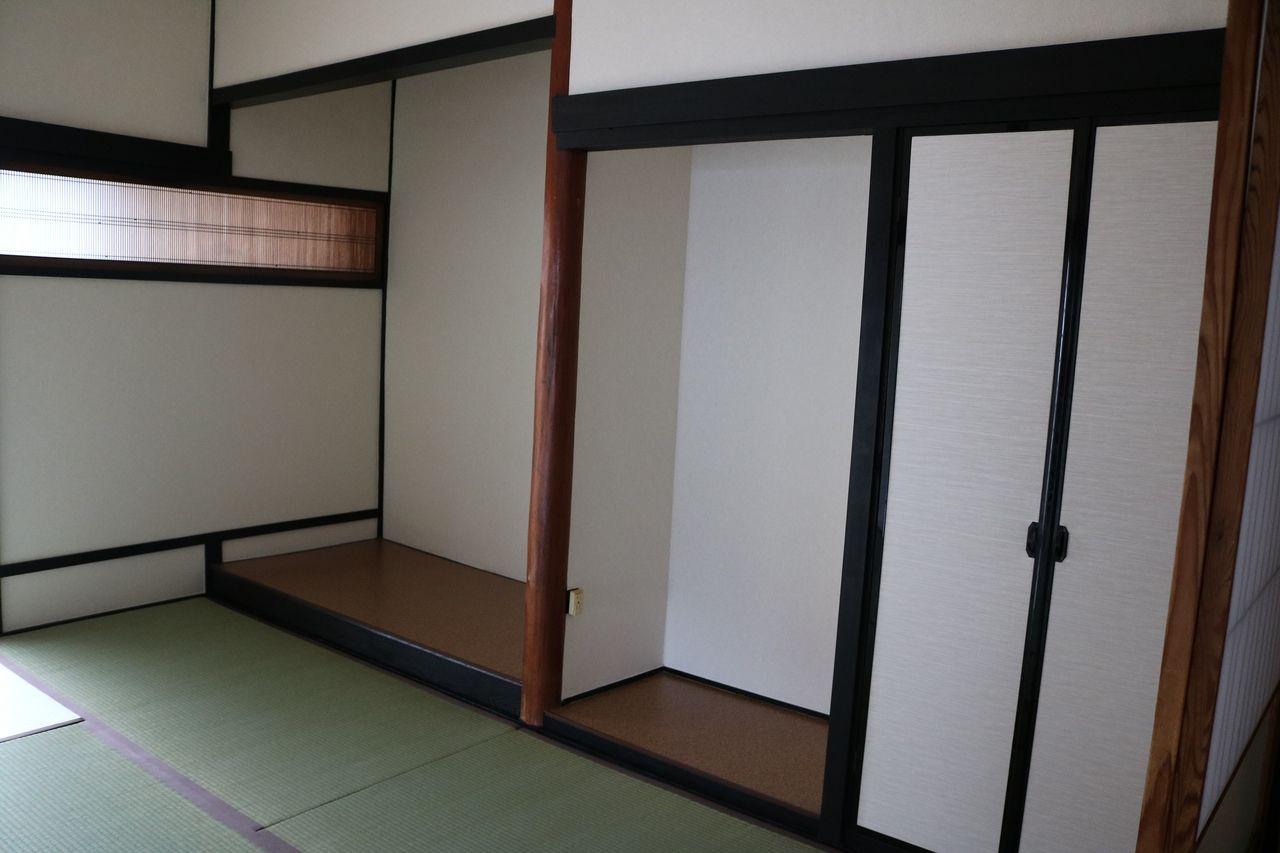 趣きのある和室。