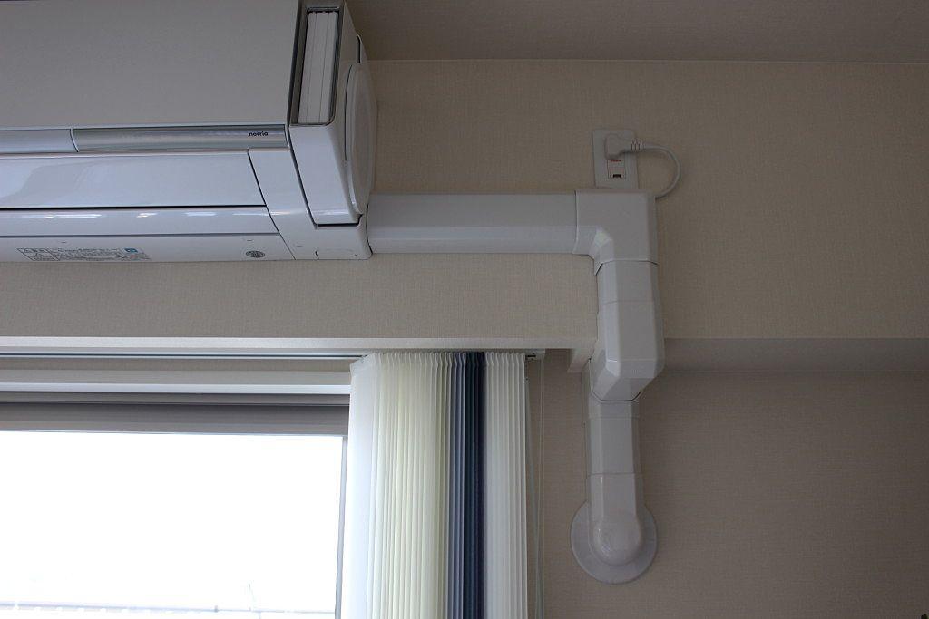 (マンションの場合)エアコンが設置できない部屋もあるのでご注意ください‼