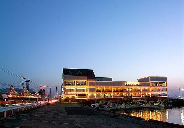 海の見えるレストラン「ラ・メール雅」