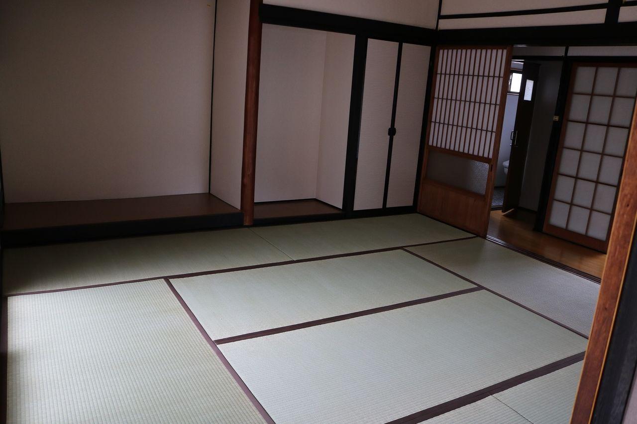 和室は畳の表替えをしました‼
