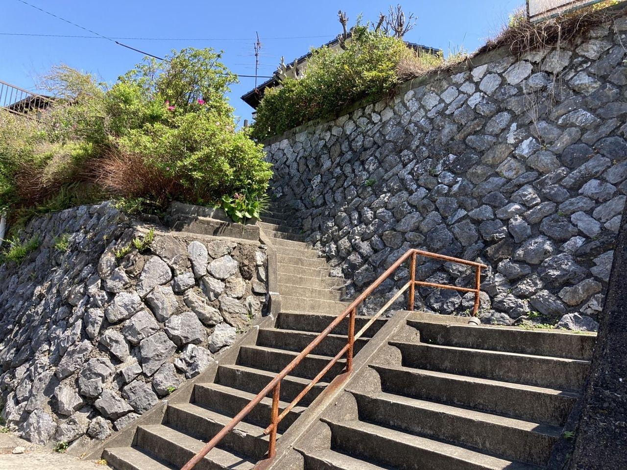 階段ですが日頃の運動不足を解消できます。