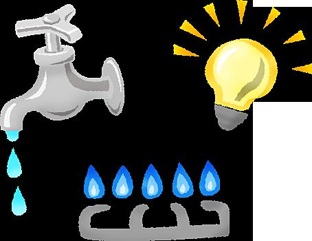 販売活動時の電気、水道、ガス、火災保険はどうしたらいいですか?
