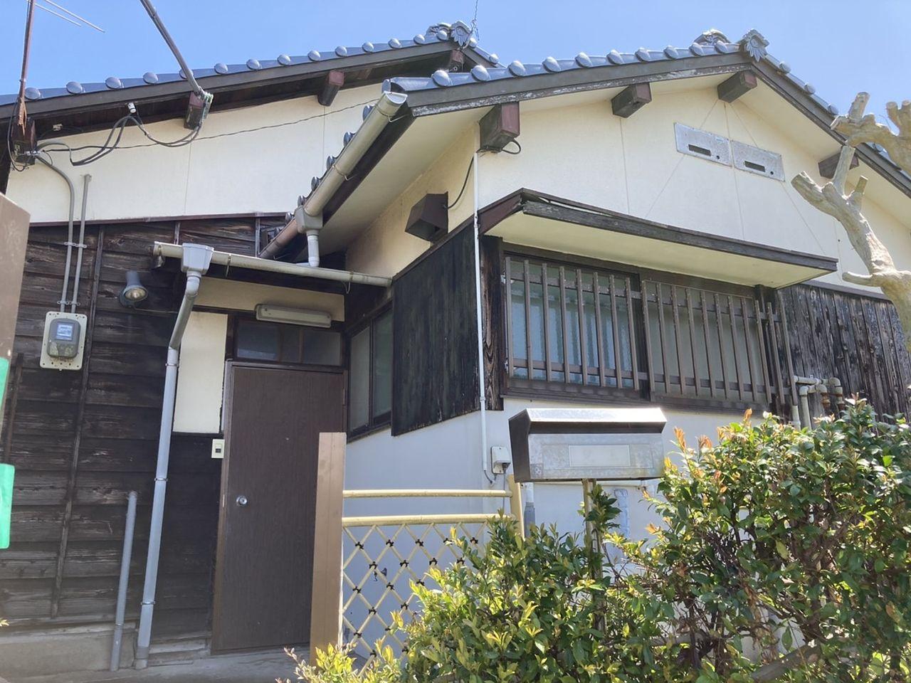 古き良き時代の家、趣きがあります(^^)/