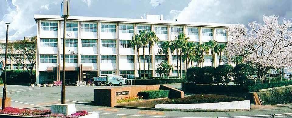 私の母校 宮崎県立日向高校です‼