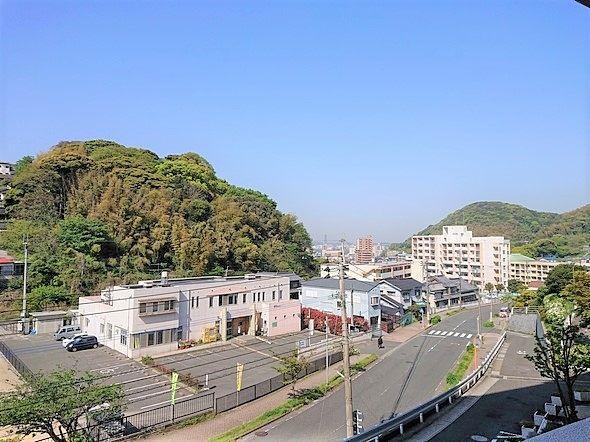 バルコニーからの眺望です(*^▽^*)