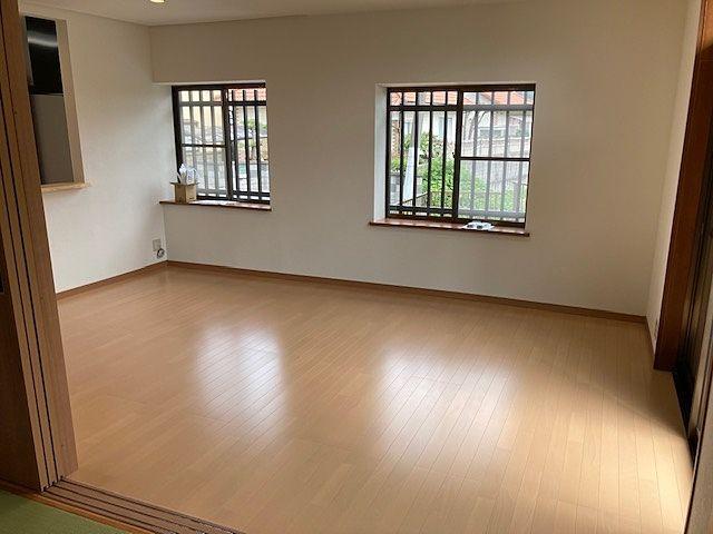 家具や家電を置いても余裕のある広さを確保しています(^^)/