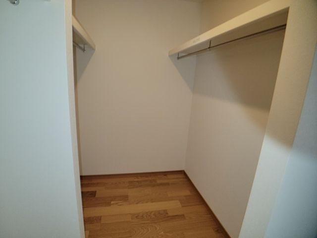 各部屋収納があります。室内を広く使えます。
