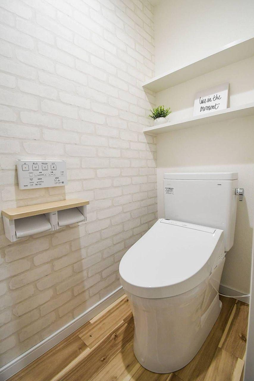 ウォシュレット付きの新品のトイレです‼