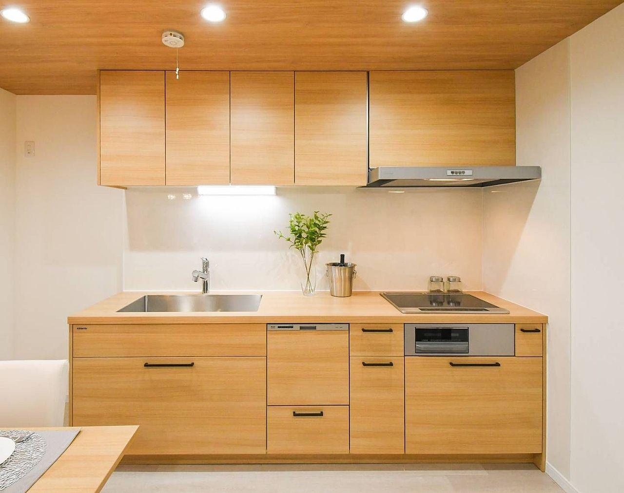 食洗機&IH付のシステムキッチンです(^^)/